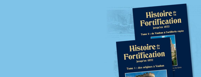 Couverture du lot de livres Tomes 1 et 2 Histoire de la Fortification